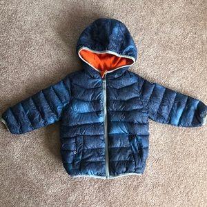 Puffer jacket - fleece lined